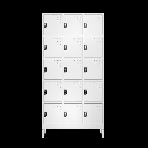 armario para vestiario multiuso 15 portas 3 colunas mc00000 frontal fechado 500x500