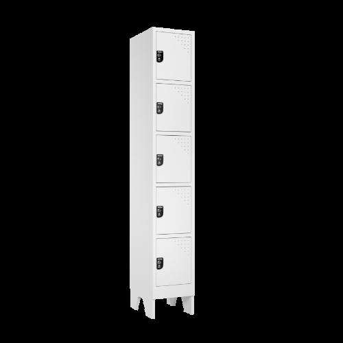 armario para vestiario multiuso 5 portas 1 coluna mc00000 lateral fechado 500x500