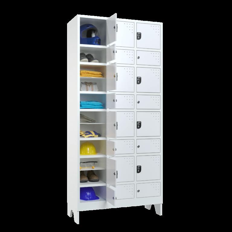 armario para vestiario civil para epi 12 usuarios 3 coluna lateral aberto 1000x1000 1
