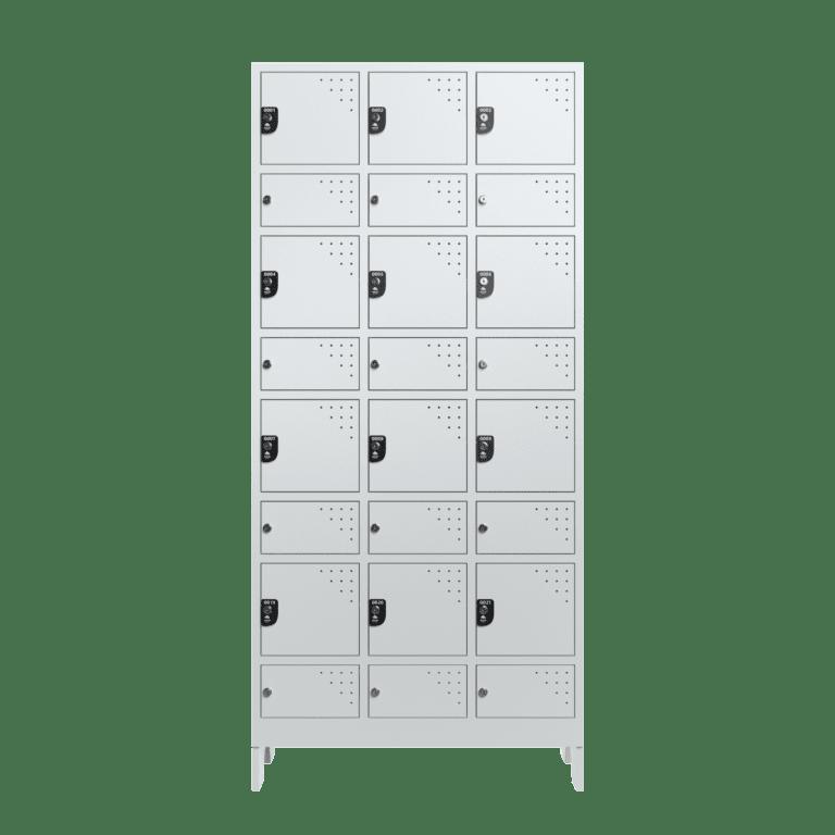 armario para vestiario civil para epi 12 usuarios 3 coluna frontal fechado 2000x2000 1