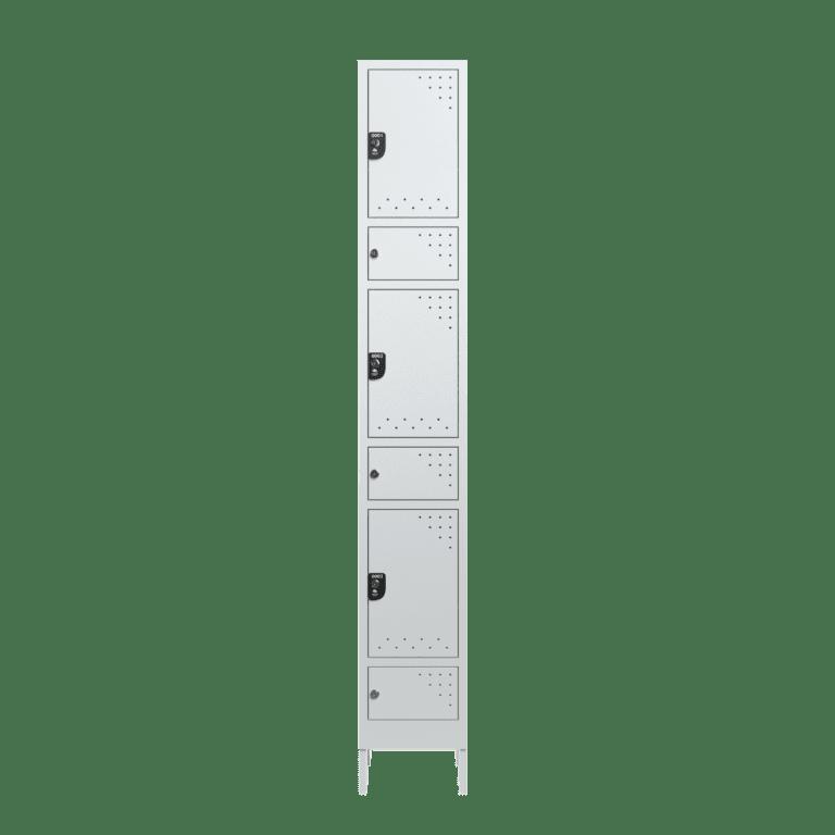 armario para vestiario civil para epi 3 usuario 1 coluna frontal fechado 2000x2000 1
