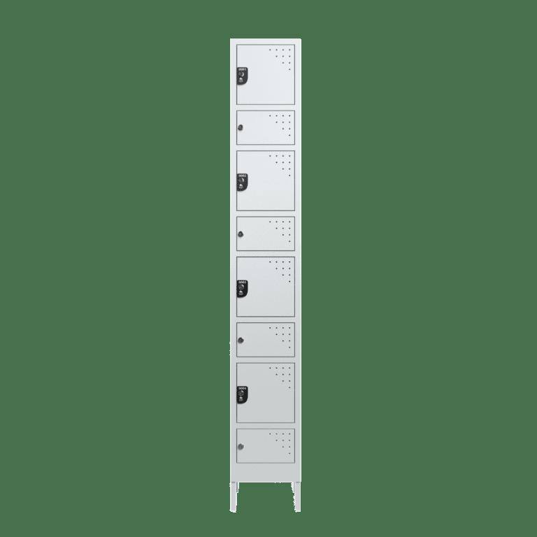 armario para vestiario civil para epi 4 usuarios 1 coluna frontal fechado 2000x2000 1