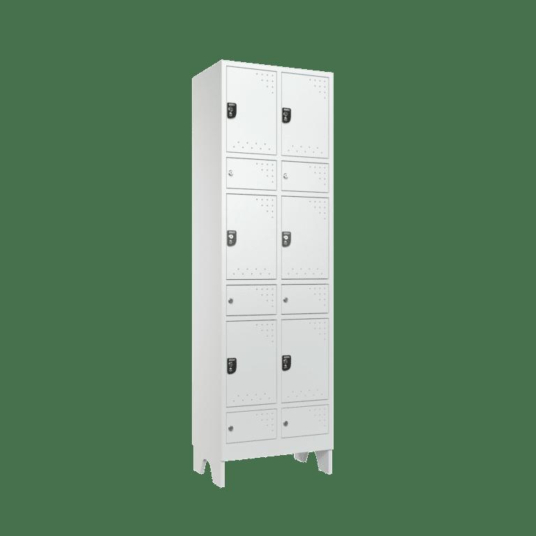 armario para vestiario civil para epi 6 usuarios 2 coluna lateral fechado 2000x2000 1