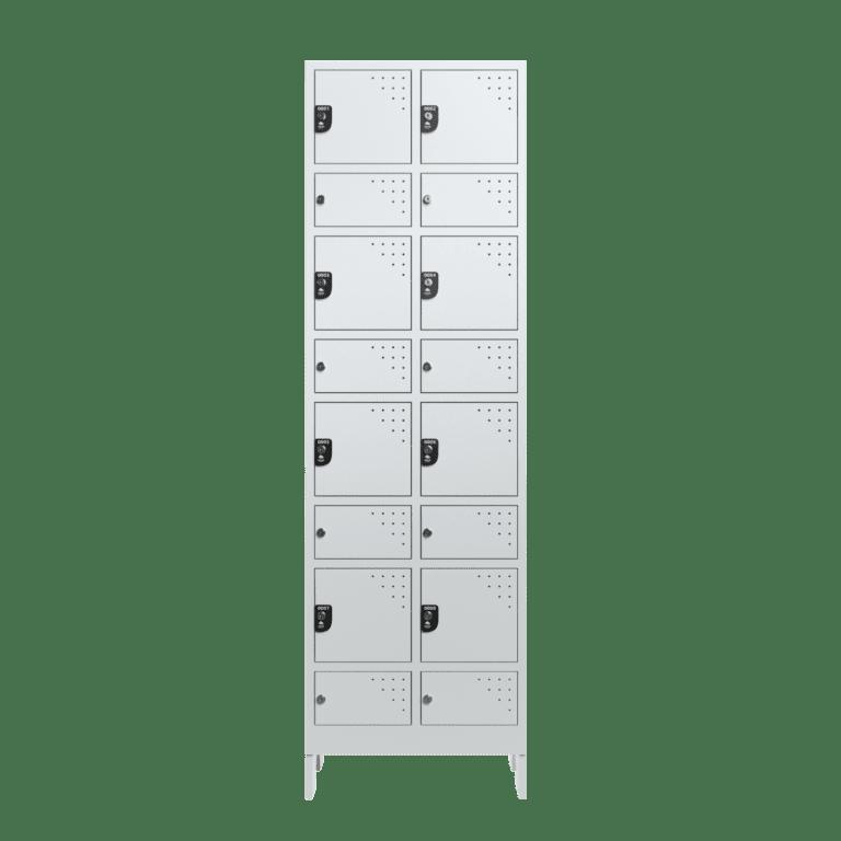 armario para vestiario civil para epi 8 usuarios 2 coluna frontal fechado 2000x2000 1