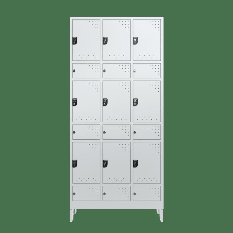 armario para vestiario civil para epi 9 usuarios 3 coluna frontal fechado 2000x2000 1