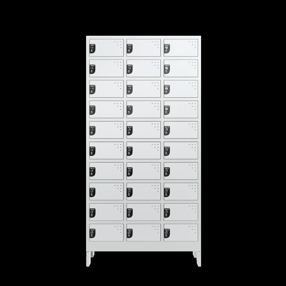 armario para vestiario colmeia lavanderia 10 portas por coluna 3 colunas 30 portas frontal fechado 1000x1000 1