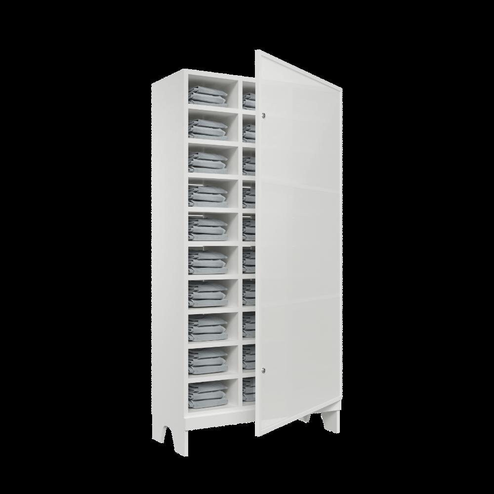 armario para vestiario colmeia lavanderia 10 portas por coluna 3 colunas 30 portas traseira aberta reposicao 1000x1000 1