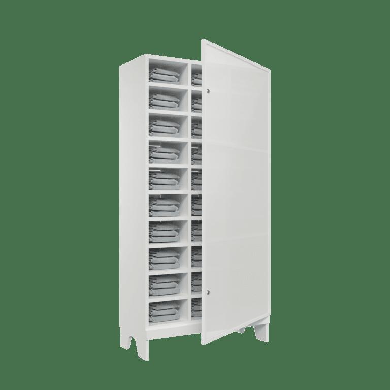 armario para vestiario colmeia lavanderia 10 portas por coluna 3 colunas 30 portas traseira aberta reposicao 2000x2000 1