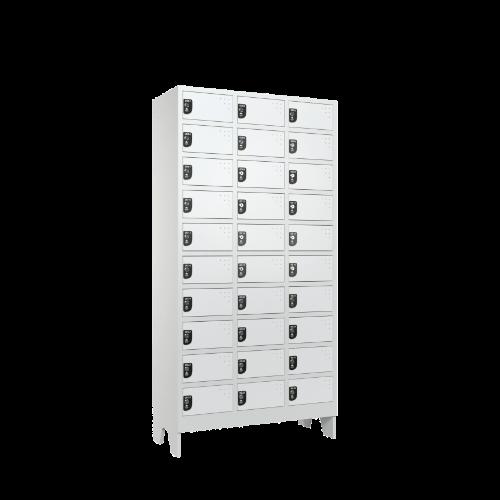 armario para vestiario colmeia lavanderia 10 portas por coluna 3 colunas 30 portas lateral fechado 500x500 1