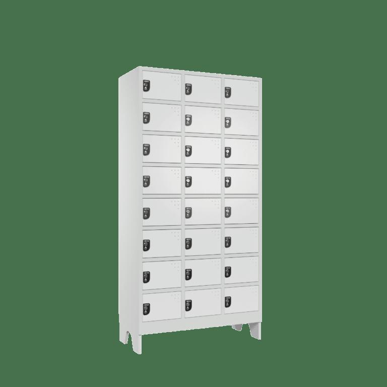 armario para vestiario colmeia lavanderia 8 portas por coluna 3 colunas 24 portas frontal lateral 1000x1000 1