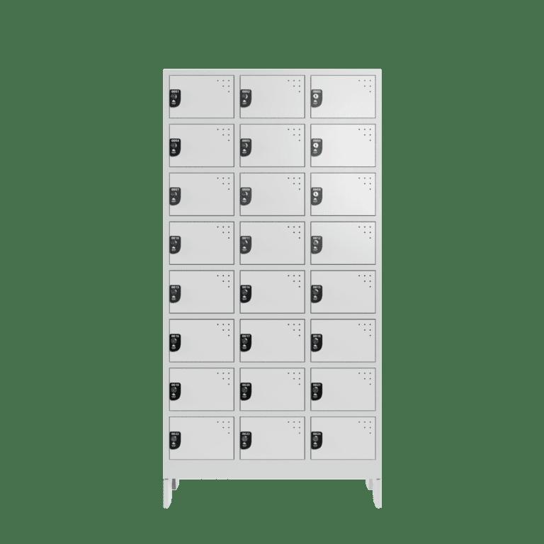 armario para vestiario colmeia lavanderia 8 portas por coluna 3 colunas 24 portas frontal fechado 2000x2000 1