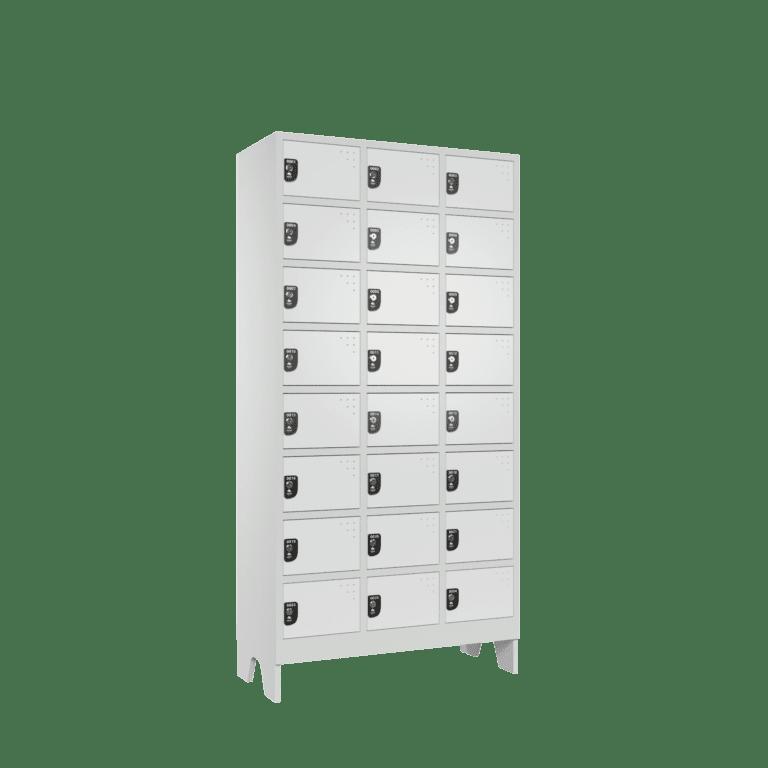 armario para vestiario colmeia lavanderia 8 portas por coluna 3 colunas 24 portas frontal lateral 2000x2000 1