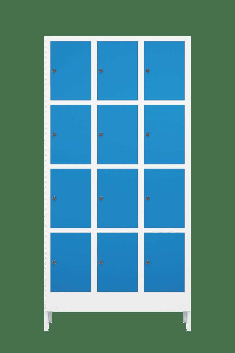 armario para vestiario multiuso para 12 usuarios mc30340 12 portas 4 portas por coluna