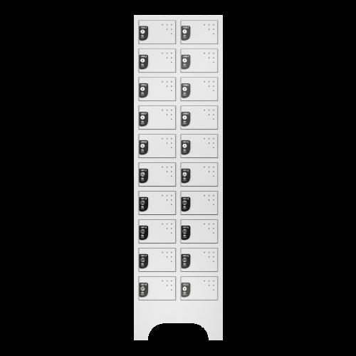 armario para vestiario porta objetos 10 portas por coluna 2 colunas 20 portas frontal fechado 500x500 1