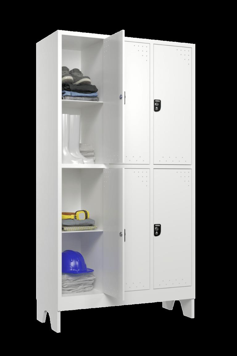 armario para vestiario roupeiro 6 portas 3 coluna 2 portas por coluna nr24 lateral aberto 1000x1500 1