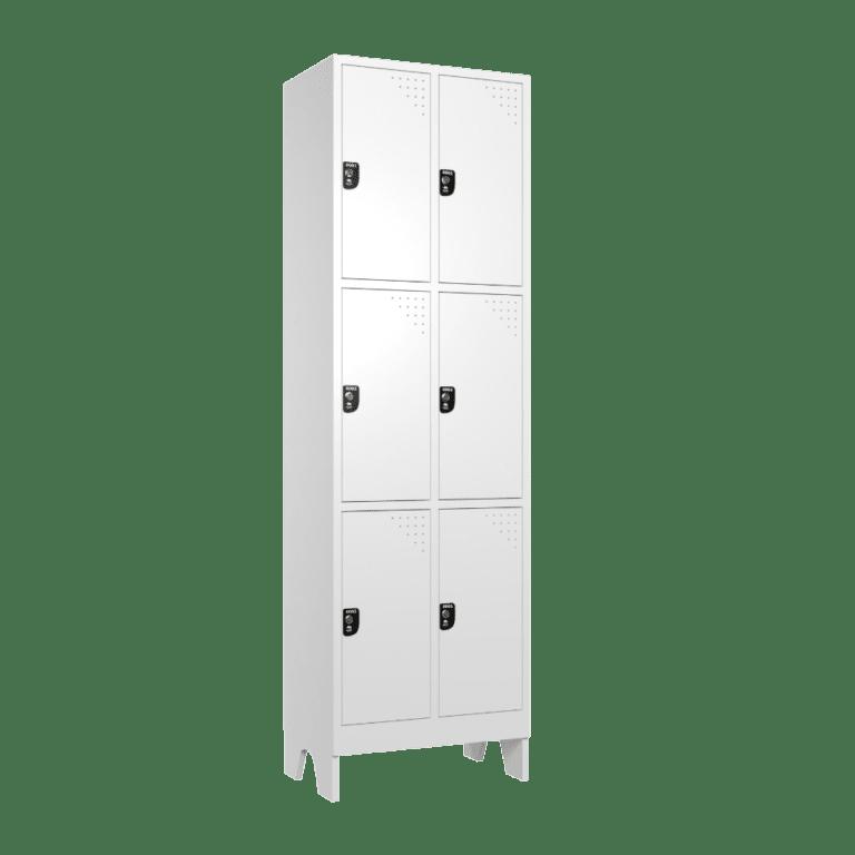 armario para vestiario macam brasil roupeiro 6 portas 3 portas por coluna 6 usuarios lateral fechado 1000x1000 1