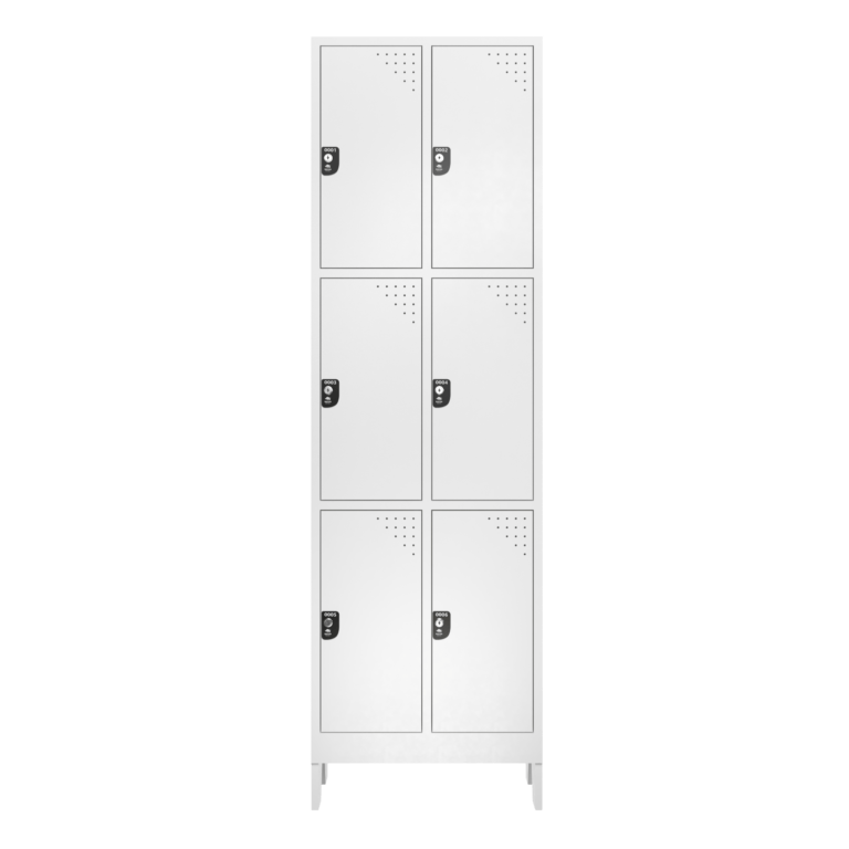 armario para vestiario macam brasil roupeiro 6 portas 3 portas por coluna 6 usuarios frontal fechado 2000x2000 1