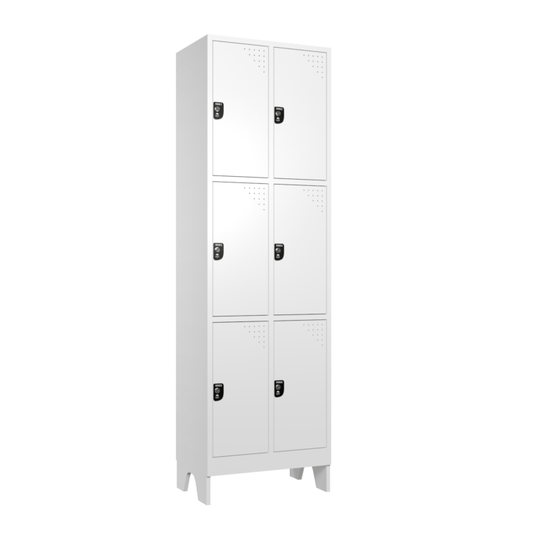 armario para vestiario macam brasil roupeiro 6 portas 3 portas por coluna 6 usuarios lateral fechado 2000x2000 1