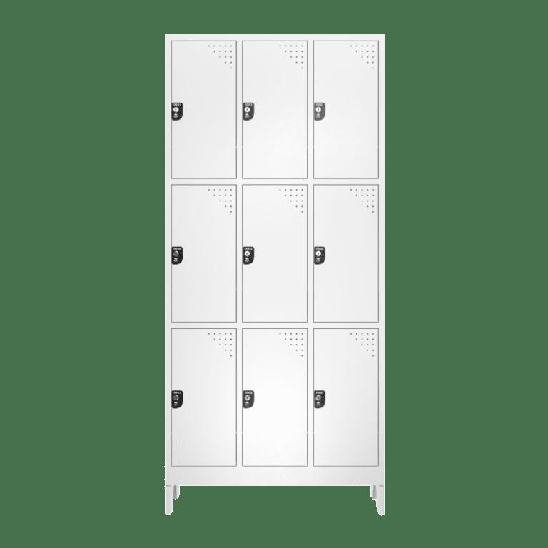 armario para vestiario macam brasil roupeiro 9 portas 3 portas por coluna 9 usuarios frontal fechado 1000x1000 1