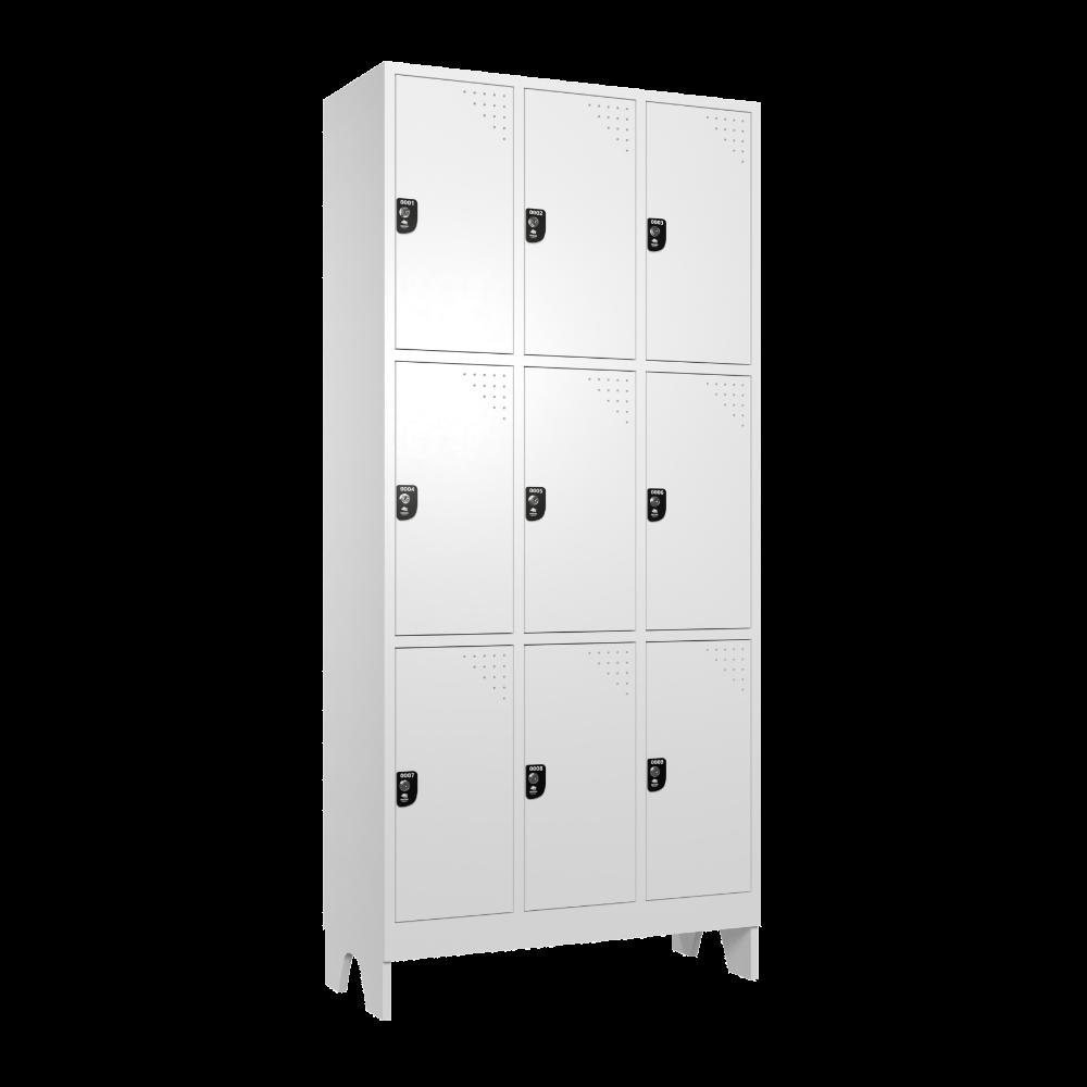 armario para vestiario macam brasil roupeiro 9 portas 3 portas por coluna 9 usuarios lateral fechado 1000x1000 1