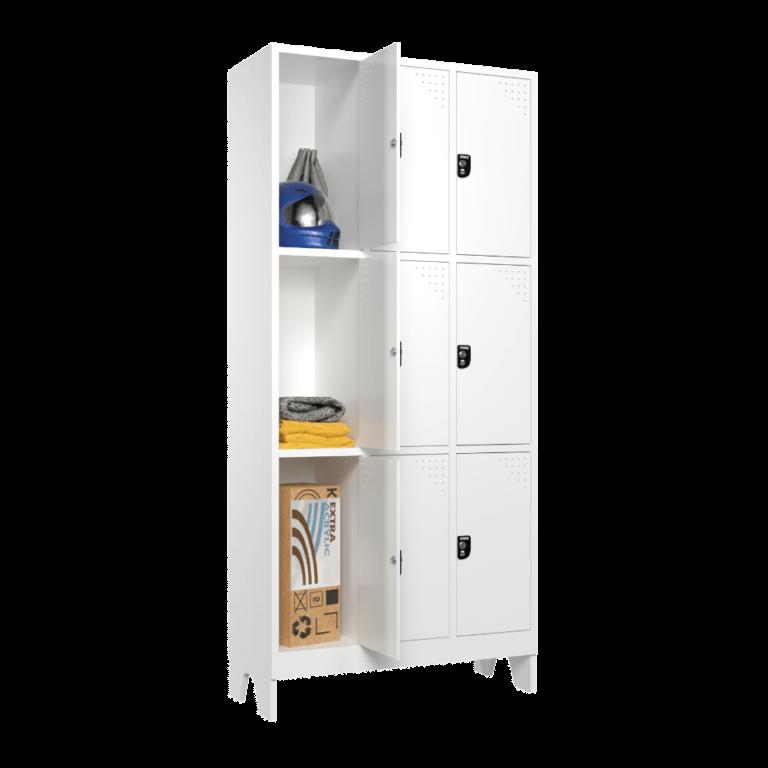 armario para vestiario macam brasil roupeiro 9 portas 3 portas por coluna 9 usuarios sem prateleira lateral aberto 1000x1000 1