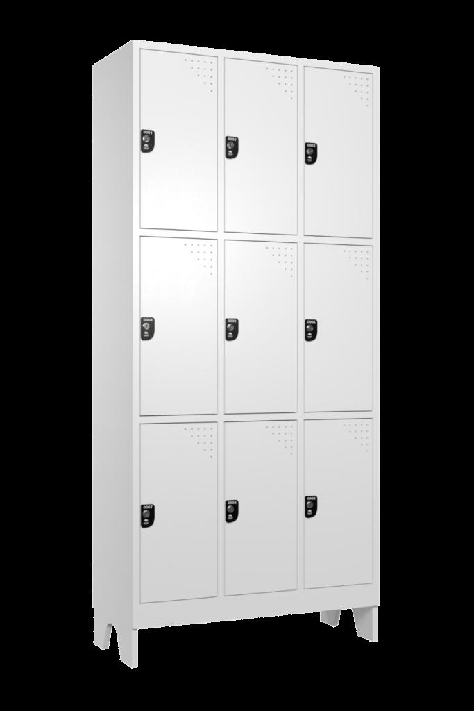 armario para vestiario macam brasil roupeiro 9 portas 3 portas por coluna 9 usuarios lateral fechado 1000x1500 1
