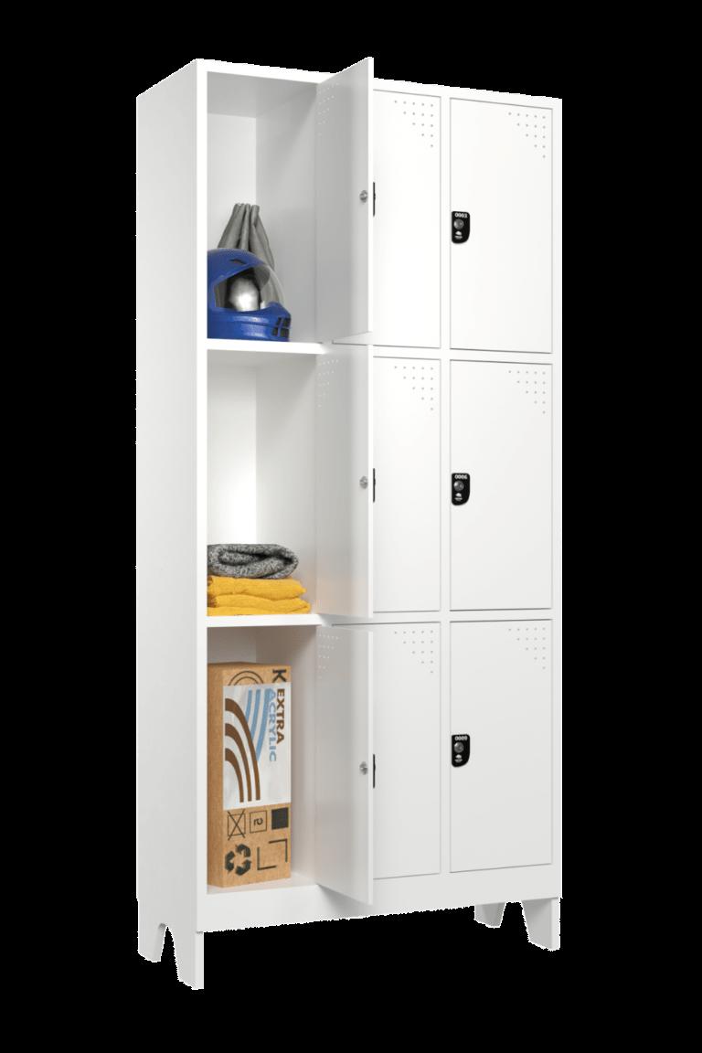 armario para vestiario macam brasil roupeiro 9 portas 3 portas por coluna 9 usuarios sem prateleira lateral aberto 1000x1500 1