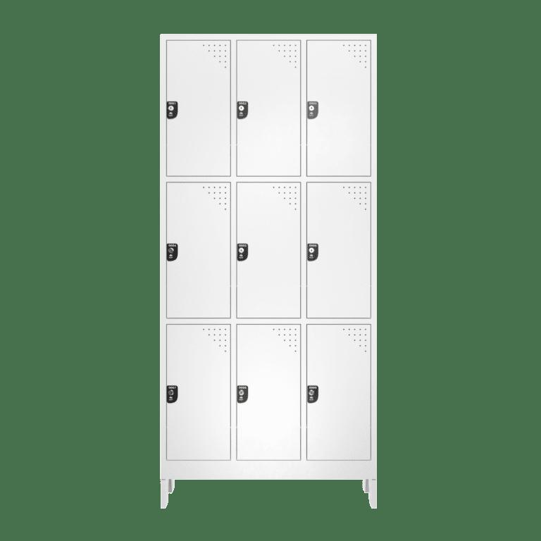 armario para vestiario macam brasil roupeiro 9 portas 3 portas por coluna 9 usuarios frontal fechado 2000x2000 1