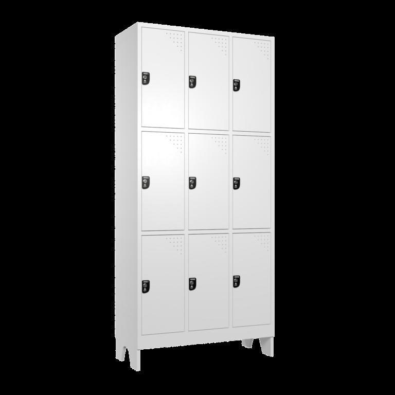 armario para vestiario macam brasil roupeiro 9 portas 3 portas por coluna 9 usuarios lateral fechado 2000x2000 1