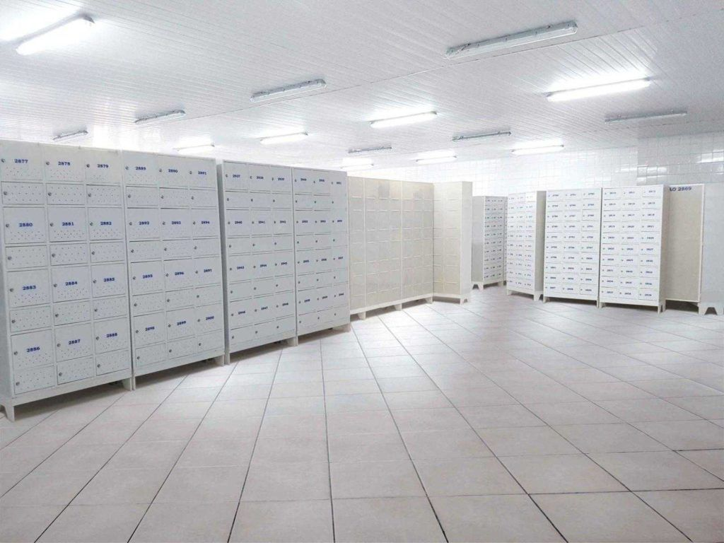 vestiario de frigorifico com armarios para vestiario macam brasil modelo civil 12 usuarios 2