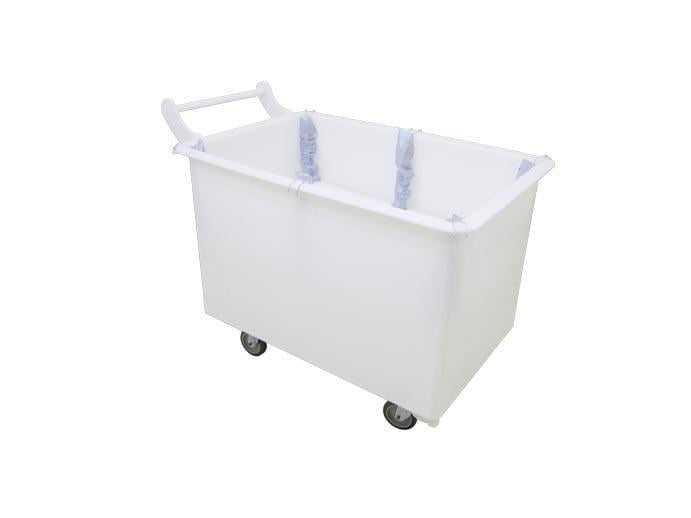 carrinho cuba macam brasil modelo branco em pead branco plataforma de elevacao ergonomia