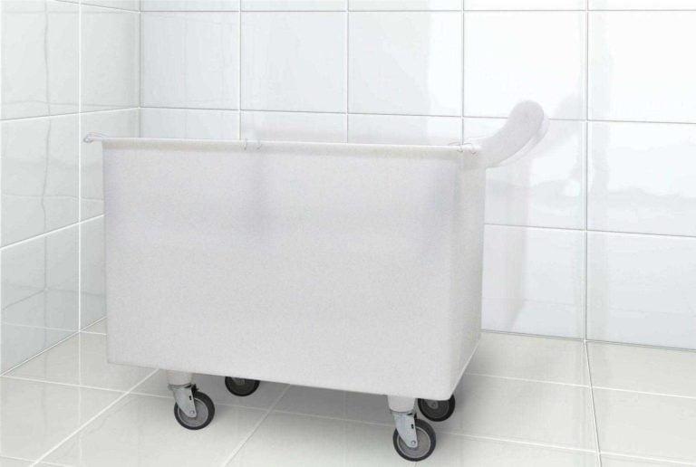 imagem foto carrinho cuba ergonomico plastico macam brasil para frigorifico