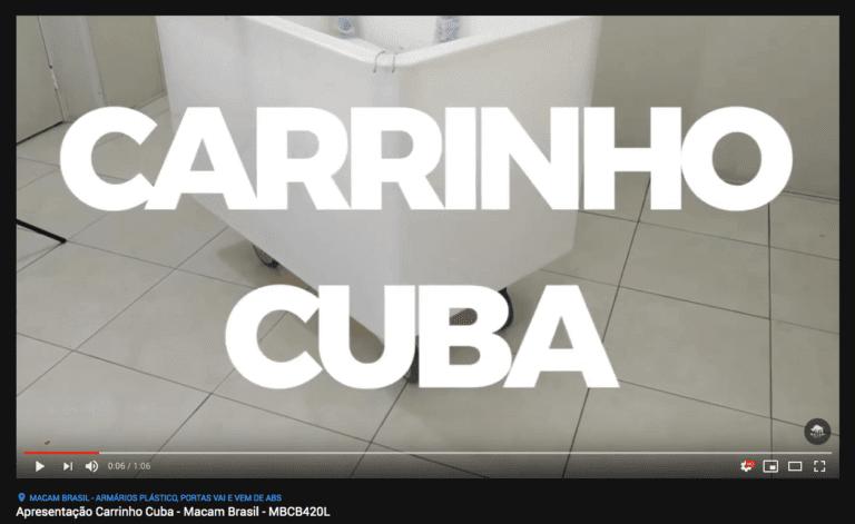thumb video carrinho cuba
