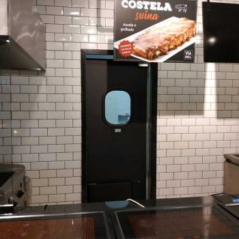porta vai e vem abs dr300 graal tigrao para cozinha industrial