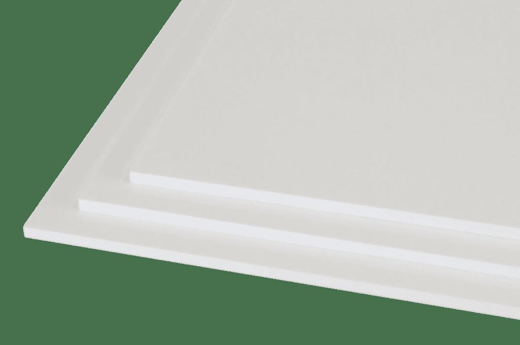 chapa de polipropileno branca sem fundo